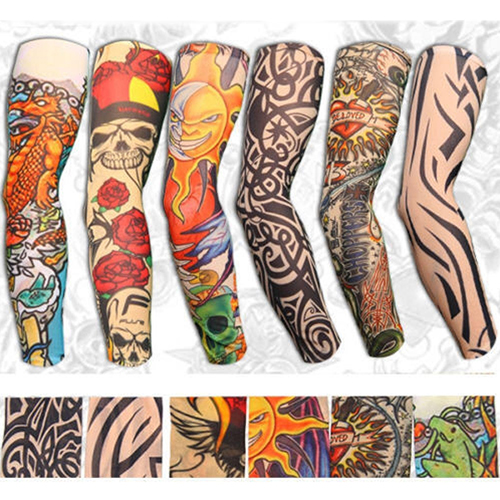6Pcs-Fashion-Stretchy-Slip-on-Temporary-font-b-Tattoo-b-font-font-b-Sleeves-b-font